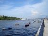 Barcos en la arrullados por las olas,Habana